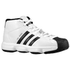 adidas Pro Model - Boys' Grade School - White / Black