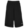 "Eastbay 13"" Mesh Short with Pockets - Men's - All Black / Black"