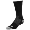 Eastbay EVAPOR Performance Crew Sock - Black / Black