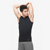 Eastbay EVAPOR Sleeveless Compression Crew - Men's - All Black / Black
