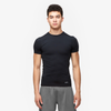Eastbay EVAPOR Compression Crew - Men's - All Black / Black