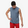 Eastbay EVAPOR Fitted Sleeveless Crew - Men's - Grey / Grey