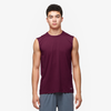 Eastbay EVAPOR Fitted Sleeveless Crew - Men's - Maroon / Maroon