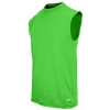 Eastbay EVAPOR Fitted Sleeveless Crew - Men's - Light Green / Light Green