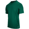 Eastbay EVAPOR Fitted Crew - Men's - Dark Green / Dark Green