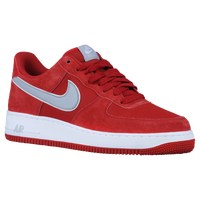 Nike Air Force 1 Low - Men's - Red / Grey