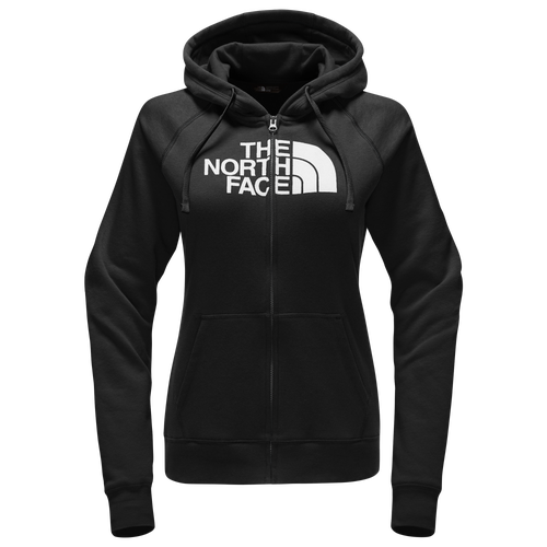 The North Face Half Dome Full Zip Hoodie - Women's Casual - Tnf Black/White 34XE-KY4