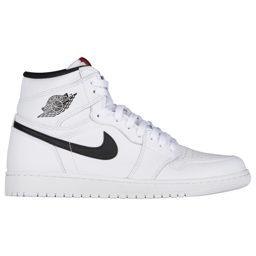 ... jordan retro 1 high og mens casual basketball sneakers basketball jordan  casual shoes mens white black