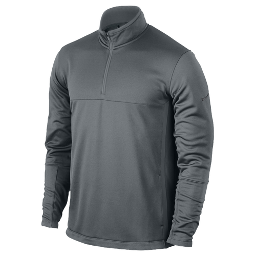 Nike Therma-Fit 1/2 Zip Golf Cover-Up - Men's Golf - Cool Grey/Anthracite 86085065